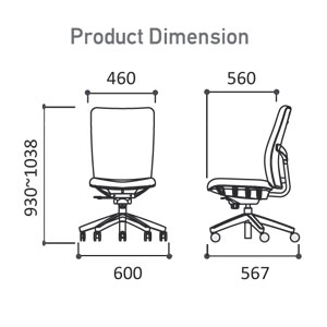 EPO-530 Dimension