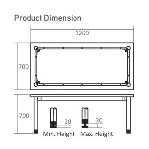T-7012 Dimension