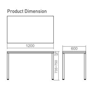 TU-6012 Dimension
