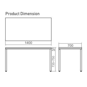 TU-7014 Dimension
