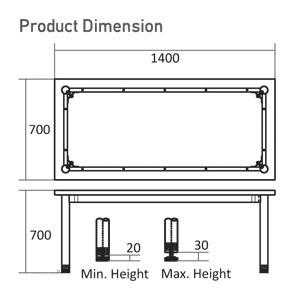 T-7014 Dimension