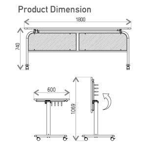FTE-6018 Dimension